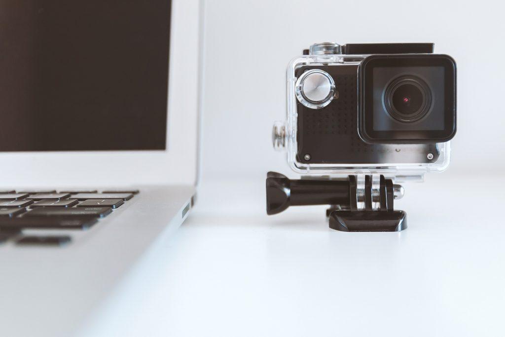 Video camera deportiva